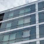 Curtain Walling glass refurbishment