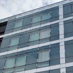 Curtain Walling glass refurbishment